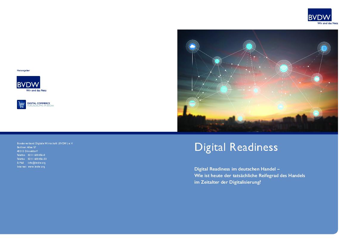 Digital Readiness – Ergebnisse der Online-Umfrage: Bundesverband ...